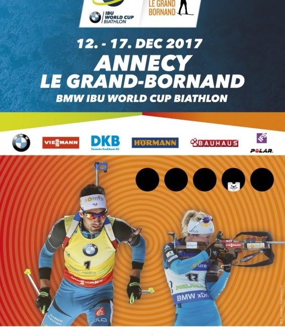 Coupe du Monde de Biathlon Grand Bornand !