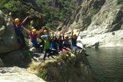 Journée canyoning Juillet 2016
